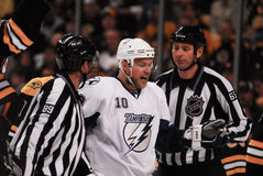 Sean Bergenheim Tampa Bay Lightning Photographie stock libre de droits