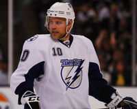 Sean Bergenheim Tampa Bay Lightning Royalty Free Stock Photos