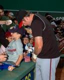 Sean Casey firma gli autografi Fotografia Stock