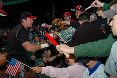 Sean Casey signs autographs Royalty Free Stock Photography
