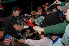 Sean Casey unterzeichnet Autogramme Lizenzfreie Stockfotografie