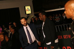 Sean Combs en Judd Apatow Royalty-vrije Stock Foto