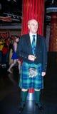 Sean Connery, Madame Tussauds muzeum w Londyn Fotografia Royalty Free