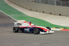 Sean Driving Formula Bmw Stock Photo
