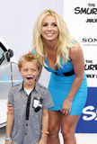 Sean Federline and Britney Spears Stock Photo