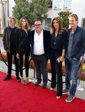 Sean Hanish, Kaia Gerber, Cindy Crawford, Rande Gerber i Presley piechur Gerber, Fotografia Royalty Free