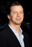 Sean Hayes. 16/12/2007 - Hollywood - Sean Hayes attends the World Premiere of `The Bucket List` held at the ArcLight Theater in Hollywood, California, United Royalty Free Stock Photography