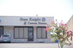Sean Knight Custom Home, Fort Worth, Texas foto de stock