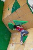 Sean McColl, qualificação bouldering de Vail Imagem de Stock
