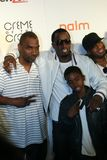 Sean P Diddy Combs. And his son attend the 2010 BET After Party at Mr. Chow's in Beverly Hills, California Stock Photo