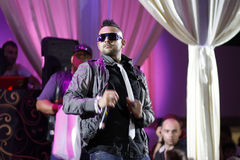 Sean Paul - konsert Royaltyfria Bilder