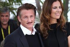 Sean Penn, Roberta Armani Stock Image