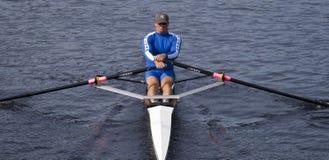 Sean Schulich del Rowing Assoc de la comunidad de Pelham Imagen de archivo