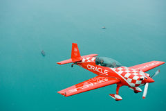 Sean Tucker of Team Oracle. Royalty Free Stock Photo