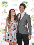 Seana Gorlick & Tyler Posey Stock Photos