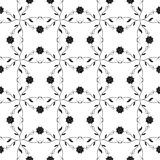 Seanless floral pattern Stock Photo