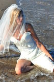 Seansual bride of the sea Royalty Free Stock Photography