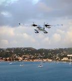 Seaplane απογείωση στοκ φωτογραφία