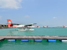Seaplane, αρσενικό, Μαλδίβες Στοκ φωτογραφία με δικαίωμα ελεύθερης χρήσης