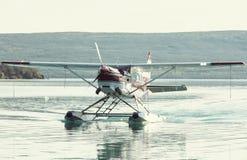 Seaplane στην Αλάσκα Στοκ εικόνες με δικαίωμα ελεύθερης χρήσης