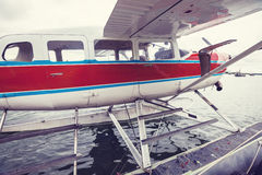 Seaplane στην Αλάσκα Στοκ φωτογραφίες με δικαίωμα ελεύθερης χρήσης