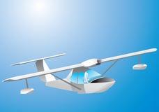 Seaplane Ilustração Royalty Free