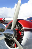 Seaplane. Propeller Royalty Free Stock Image