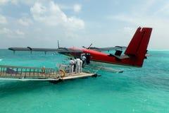 seaplane Arkivbild