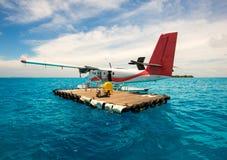 seaplane Arkivfoton