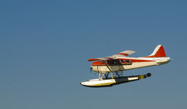Seaplane in Canada Royalty Free Stock Images