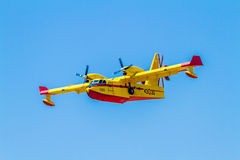 Seaplane Canadair CL-215 Stock Images