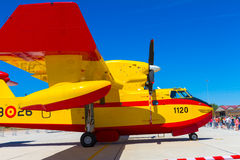 Seaplane Canadair CL-215 Stock Photos