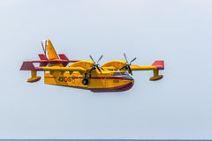 Seaplane Canadair CL-215 Stock Image