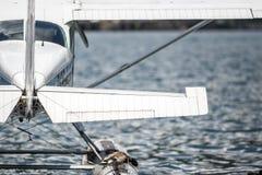Seaplane on the lake Stock Photography