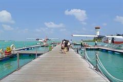 Seaplane, Male, Maldives Royalty Free Stock Photo