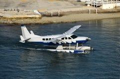 Seaplane in Miami royalty free stock photography