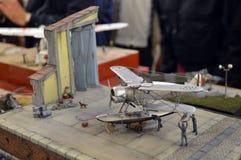 Seaplane Model Stock Photo
