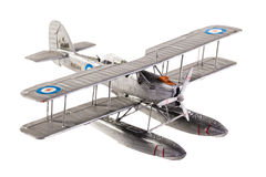 Seaplane model Royalty Free Stock Photos