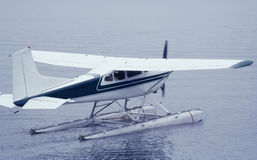 Seaplane ready for Take Off Royalty Free Stock Photo
