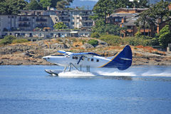 Seaplane taking off Royalty Free Stock Photography