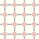 Seaplessbloem met het Patroon van het Liefdehart Royalty-vrije Stock Foto
