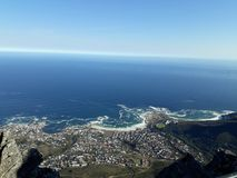 Seapoint Cape Town SA stock image