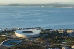 Seapoint stadium Capetown Południowa Afryka obraz royalty free
