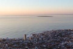 Seapoint und Robben-Insel lizenzfreie stockfotografie