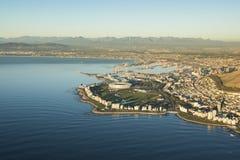 Seapointstadion Kaapstad Zuid-Afrika stock foto