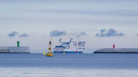 seaport Imagens de Stock Royalty Free