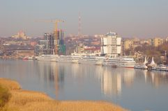 Seaport. Rostov-on-Don. Russia Stock Images