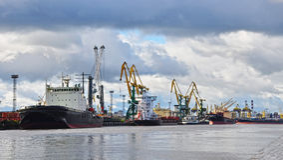 seaport Стоковое Фото