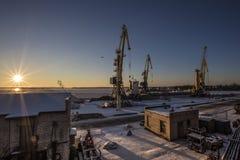 seaport Zdjęcia Stock