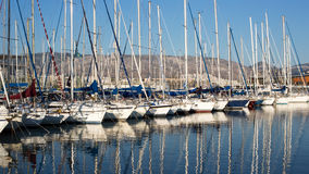 A seaport in Athens, Greece Stock Photography